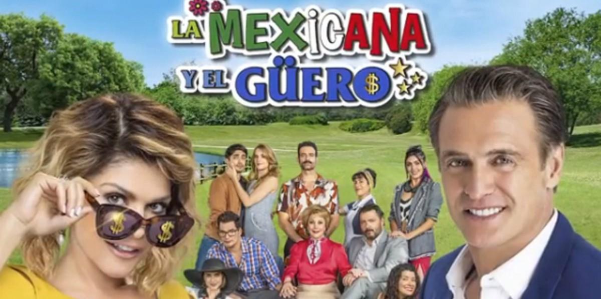 Мексиканка и блондин / La mexicana y el guero (2020) Мексика